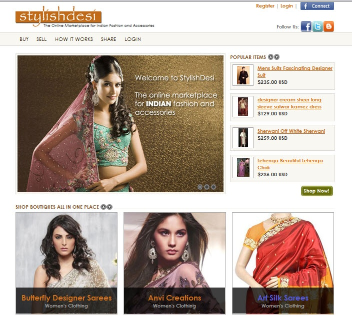Got A Shopping Urge? Try StylishDesi.com