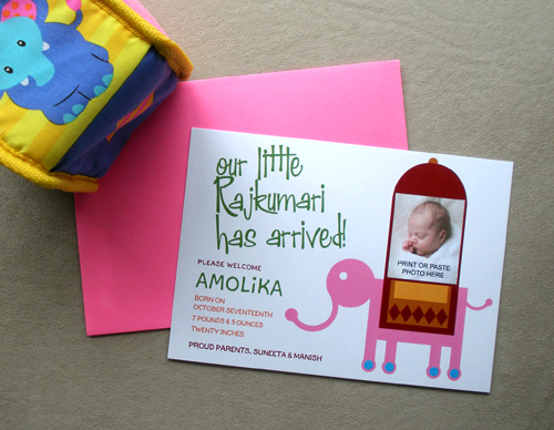 The hindu naming ceremony and birth announcements for Baby namkaran decoration