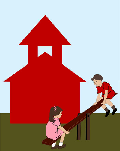 bigstock-boy-and-girl-on-seesaw-in-fron-15973982