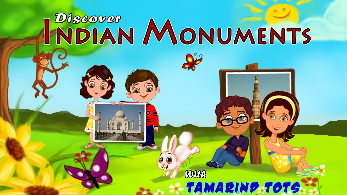 Discover Indian Monuments with Tamarind Tots