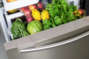 Vegetables-in-a-fridge