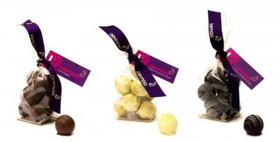 Chai, Coconut, Cardamum and Pistachio Devnaa Chocolates