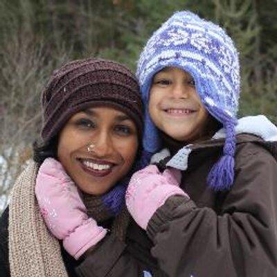 Shaaren and her daughter