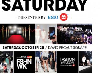 Be a VIP at World Card MasterCard Fashion Week!
