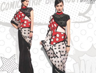 A Mickey Sari? Satya Paul Launches 'Disney Mono Pop'