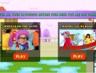 New App: Teaching Hindi through Nursery Rhymes