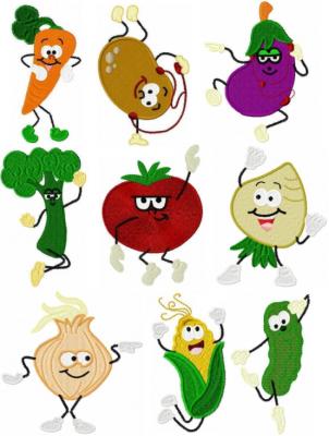 Dancing Veggies