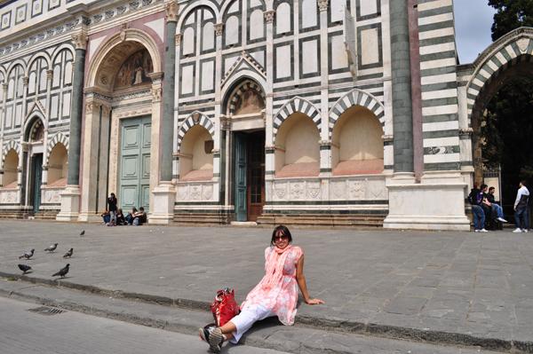 Desi Globetrotter in Florence