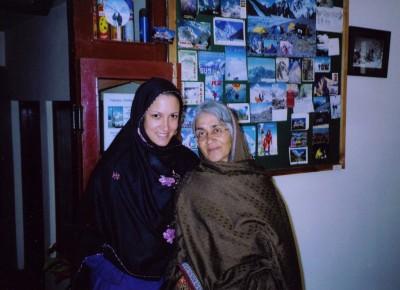 Sitara Hewitt And Mother