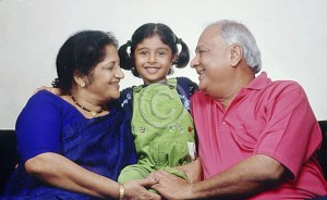 grandparents with child
