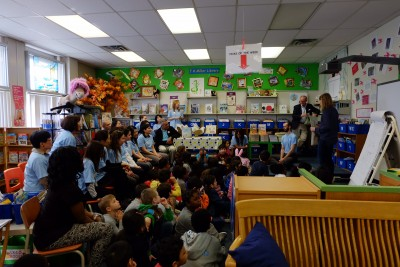 Kumon reading celebration