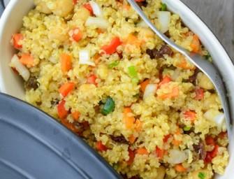 Recipe: Indian Spiced Quinoa Salad