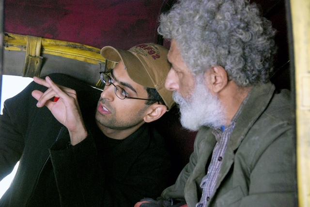Richie with Actor Nasaruddin Shah Photo Credit: Bob Gundu