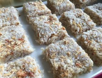 Recipe:  4-Ingredient Coconut Barfi