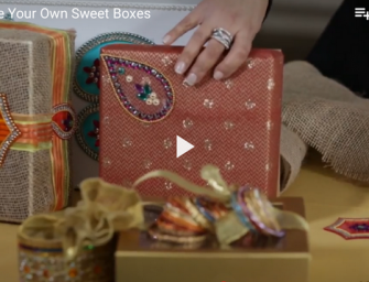 DIY Indian (Mithai) Sweet Boxes
