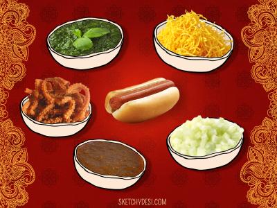 masala hotdogs