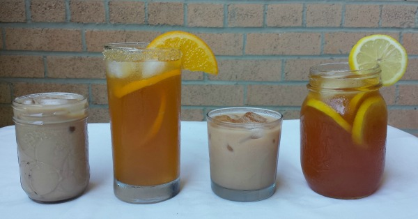 Indian inspired iced teas