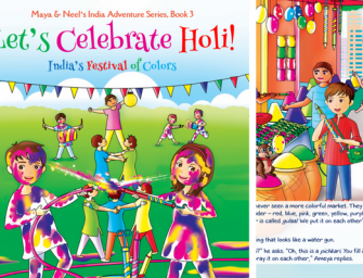 Book Series for Holi: Maya & Neel's India Adventure Series